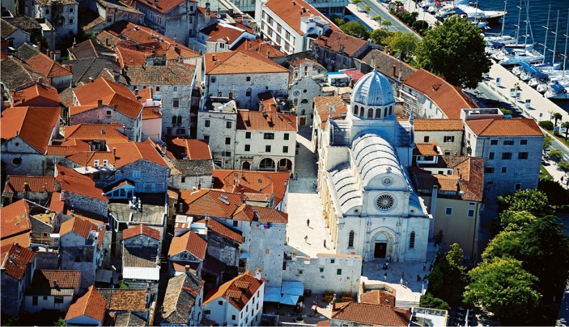 City_of_Sibenik_central_dalmatia