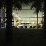 8027 Solaris Wellness & Spa Mediterranean Indoor Pools_by night