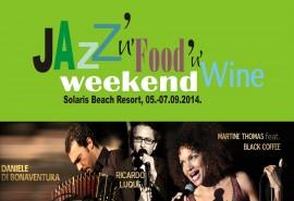 JAZZ'n'WINE'n'FOOD 2014_SolarisBeachResort_special september offer